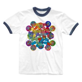 深く眠りたい Ringer T-shirts