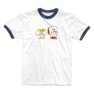 ぷんぷん Ringer T-shirts