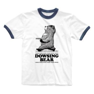 ダウジングマ Ringer T-shirts