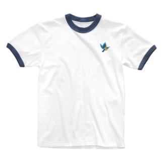 カワセミs Ringer T-shirts