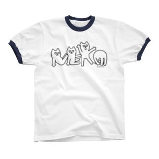 NEKO リンガーTシャツ