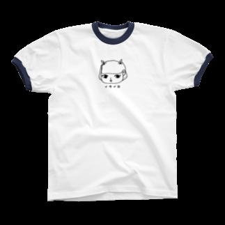 Asukalleの痛い夜リンガーTシャツ