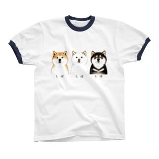 しばしばしばTシャツ リンガーTシャツ