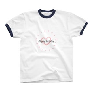 お誕生日おめでと Ringer T-shirts