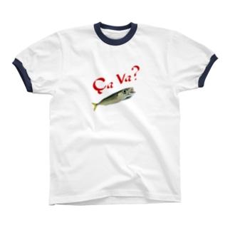 小鯖日和 其の2 Ringer T-shirts