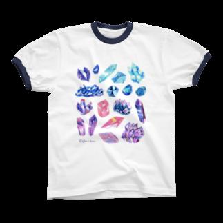 Coffret à bijouxの宇宙鉱物のコレクション Ringer T-shirts