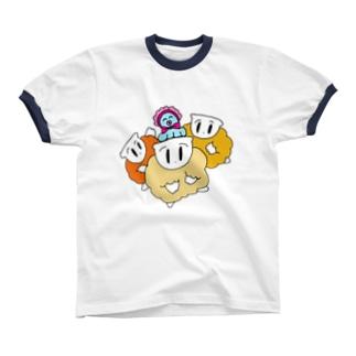 ベビーシッタートリオ Ringer T-shirts