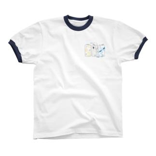 レモンとソーダ Ringer T-shirts