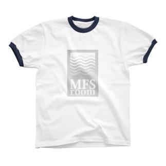 MFS room trim10(淡い灰色) リンガーTシャツ