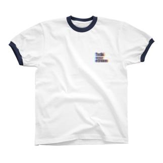 neon リンガーTシャツ