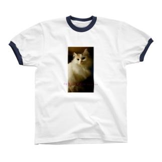 FUWAFUWA is justice リンガーTシャツ