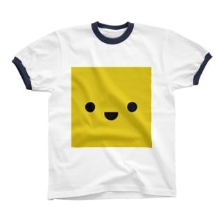 きいろいやつ Ringer T-shirts