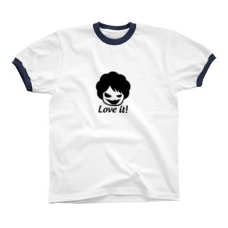 好きな物は好きなんだ戦士 Ringer T-shirts