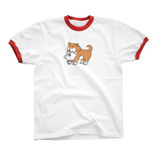 mugny shopのGOOD BOY リンガーTシャツ