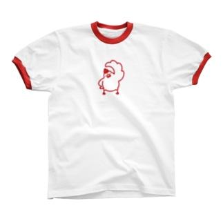 ぶんちょう体操(あかぐみ) リンガーTシャツ