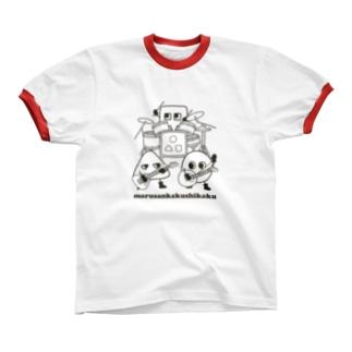 marusankakushikaku Ringer T-shirts