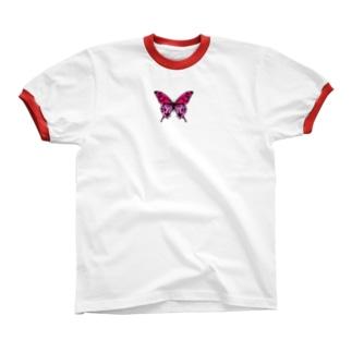 🦋 リンガーTシャツ