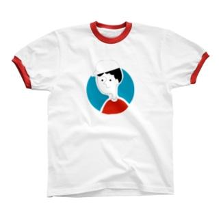 city bouya Ringer T-shirts