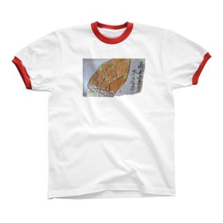 たけのこ リンガーTシャツ