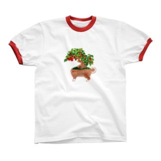 イヌモドキ リンガーTシャツ