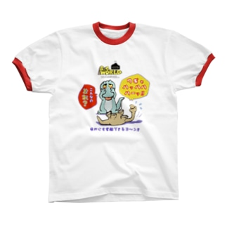 B.C.WORLD リンガーTシャツ