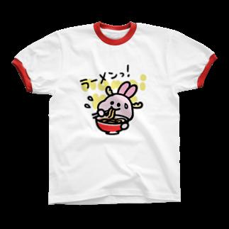 なまいキッズのラーメンっ! リンガーTシャツ