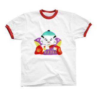 福助 リンガーTシャツ