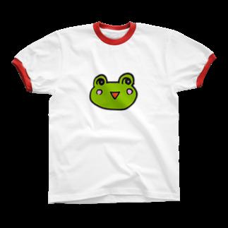 かえるのなおたろうのかえるのなおたろう Ringer T-shirts