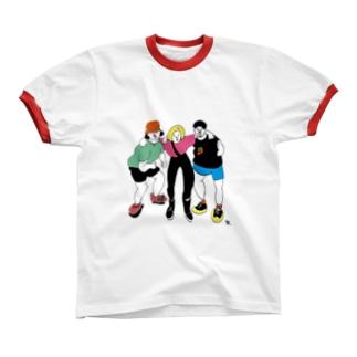 YEAH! Ringer T-shirts