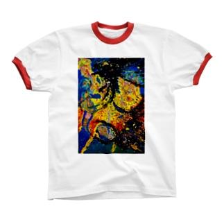 八咫烏 Ringer T-shirts