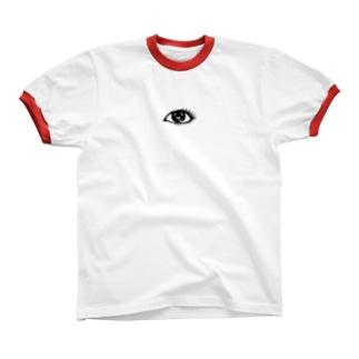 にっちっち大好き倶楽部 Ringer T-shirts