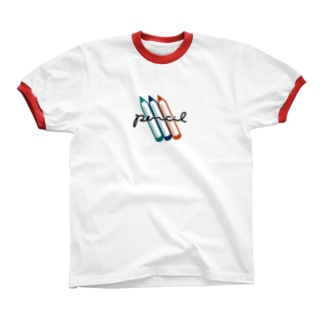 Pencil Ringer T-shirts