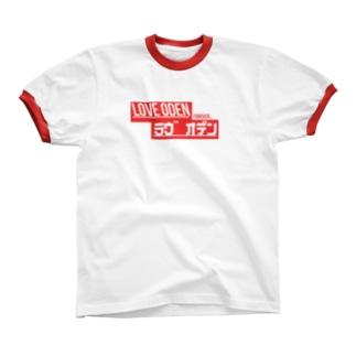 LOVE ODEN Ringer T-shirts