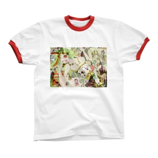 バンザイアタック 2017 Ringer T-shirts