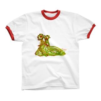 Bugs series -slug- リンガーTシャツ