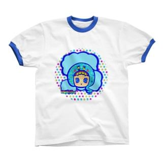 水島ちゃん リンガーTシャツ