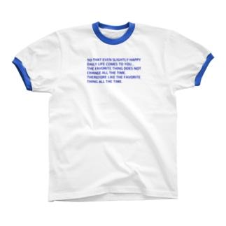 MESSAGE🗯 リンガーTシャツ