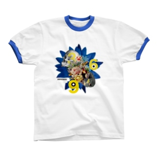 Blue Lotus 369 Ringer T-shirts