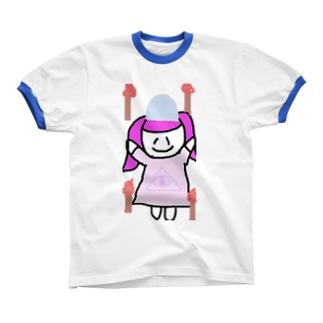 ホォオオオオオオオオオオオオオオ\(^o^)/ リンガーTシャツ