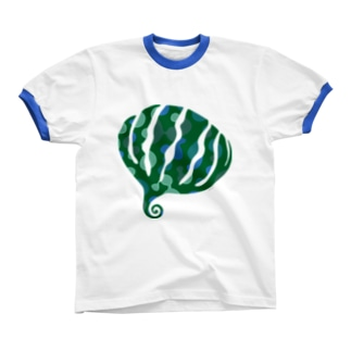 greensxart リンガーTシャツ