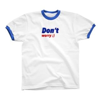 Don't worry ! リンガーTシャツ