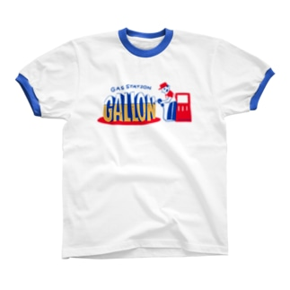 【2018-SS】GALLON Ringer T-shirts