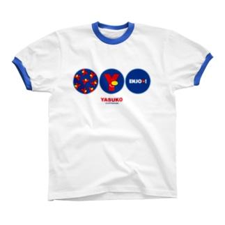 Yマーク(No.4) リンガーTシャツ