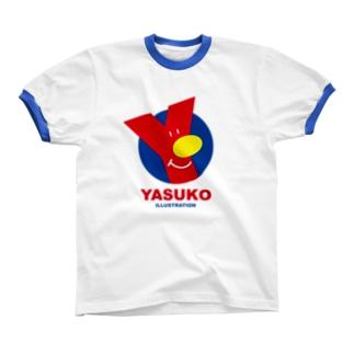 Yマーク(No.3) リンガーTシャツ