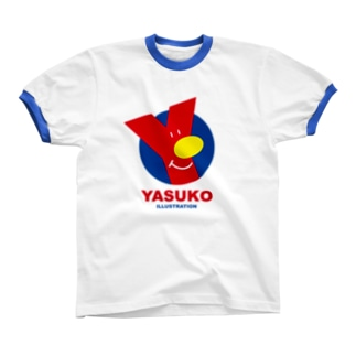 Yマーク(No.3) Ringer T-shirts