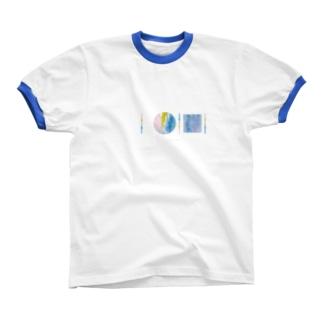 「AWAI KO I」SUZURI限定アイテム / 001 (文字柄アリ) Ringer T-shirts