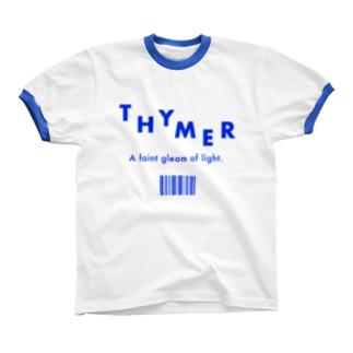 THYMER BLUE Ringer T-shirts