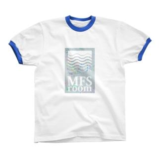 MFS room Gray1 リンガーTシャツ