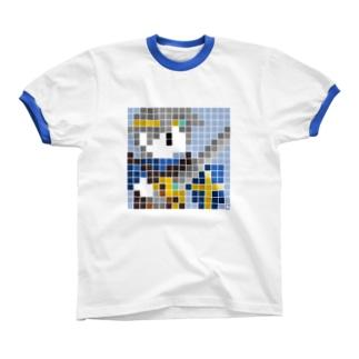 D-Hero 2P リンガーTシャツ