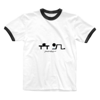 ink,sの負け組 Ringer T-shirts